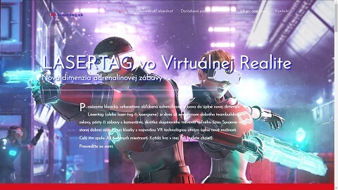 Lasertag vo virtuálnej realite